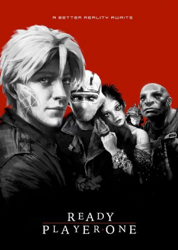 2010's Movie - READY PLAYER ONE - LOST BOYS STYLE RED